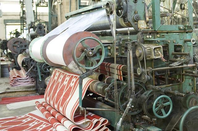 maquina industria textil