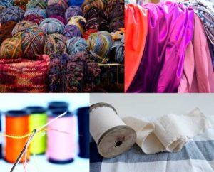fibras: materia prima textil